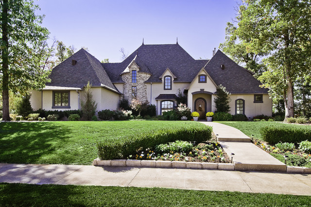 clear creek country club home traditional exterior ForTraditional Country Homes