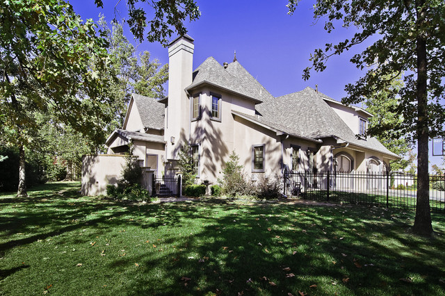 Clear Creek house traditional-exterior
