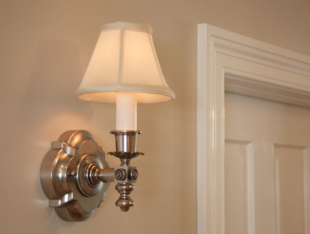 Wall Sconces For Narrow Hallway : Close Up Hallway Lighting - Traditional - Wall Sconces - chicago - by Brass Light Gallery