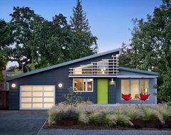 Cloud Street Residence midcentury-exterior