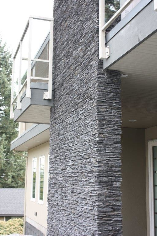 Cloudstone Coastal Ash Exterior Stone Wall Modern Exterior Vancouver By Cloudstone