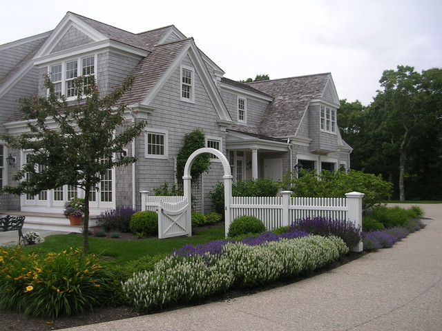 Coastal Cape Cod Beach Style Exterior Boston By