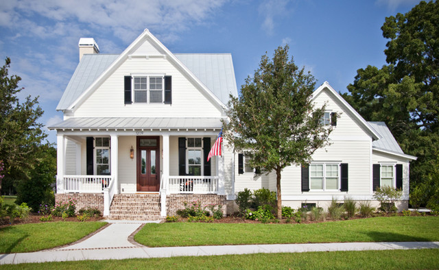 Coastal Cottage Home Beach Style Exterior Charleston By