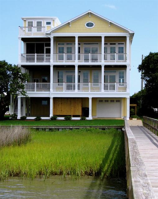 Coastal Designs beach-style-exterior
