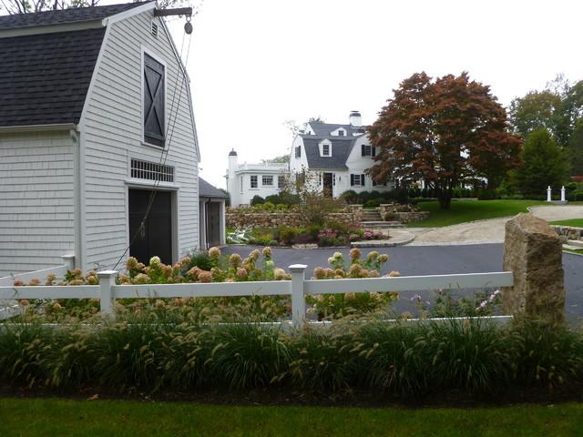 Coastal Estate farmhouse-exterior