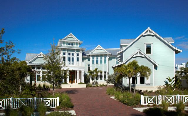 Coastal Living Davis Island Interior Design Tropical