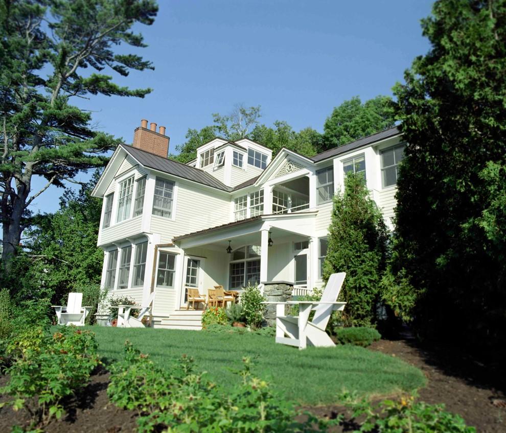 Traditional exterior home idea in Boston
