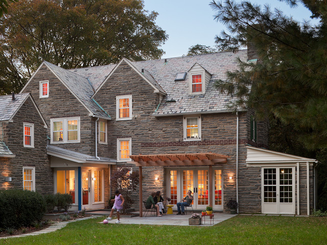 Cohen Residence traditional-exterior