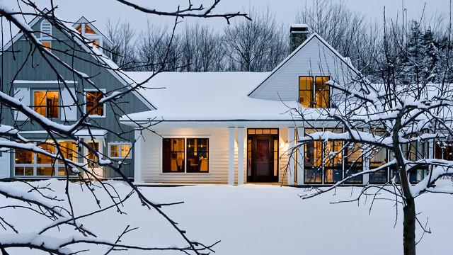 Cole Farm Residence farmhouse-exterior