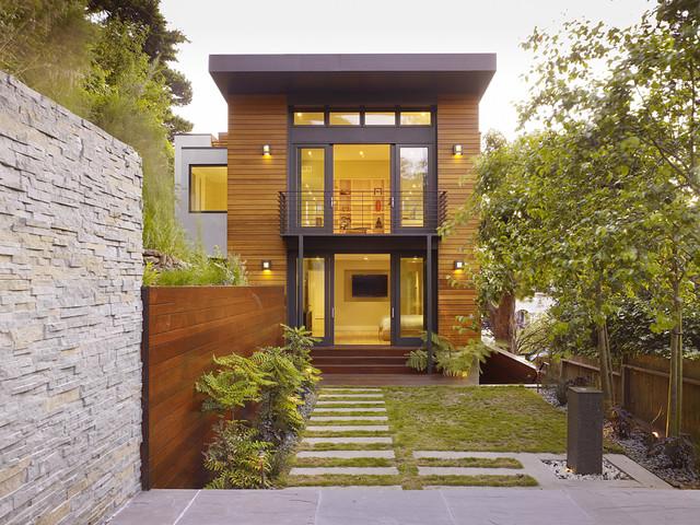 Cole Valley Hillside contemporary-exterior