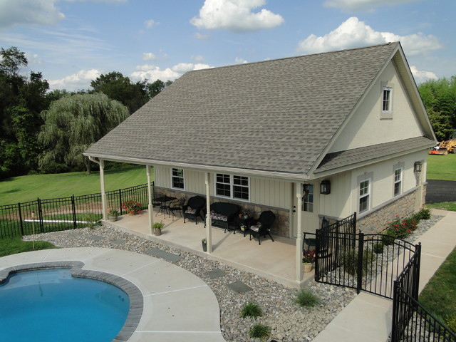 collegeville pa residence pool house and garage