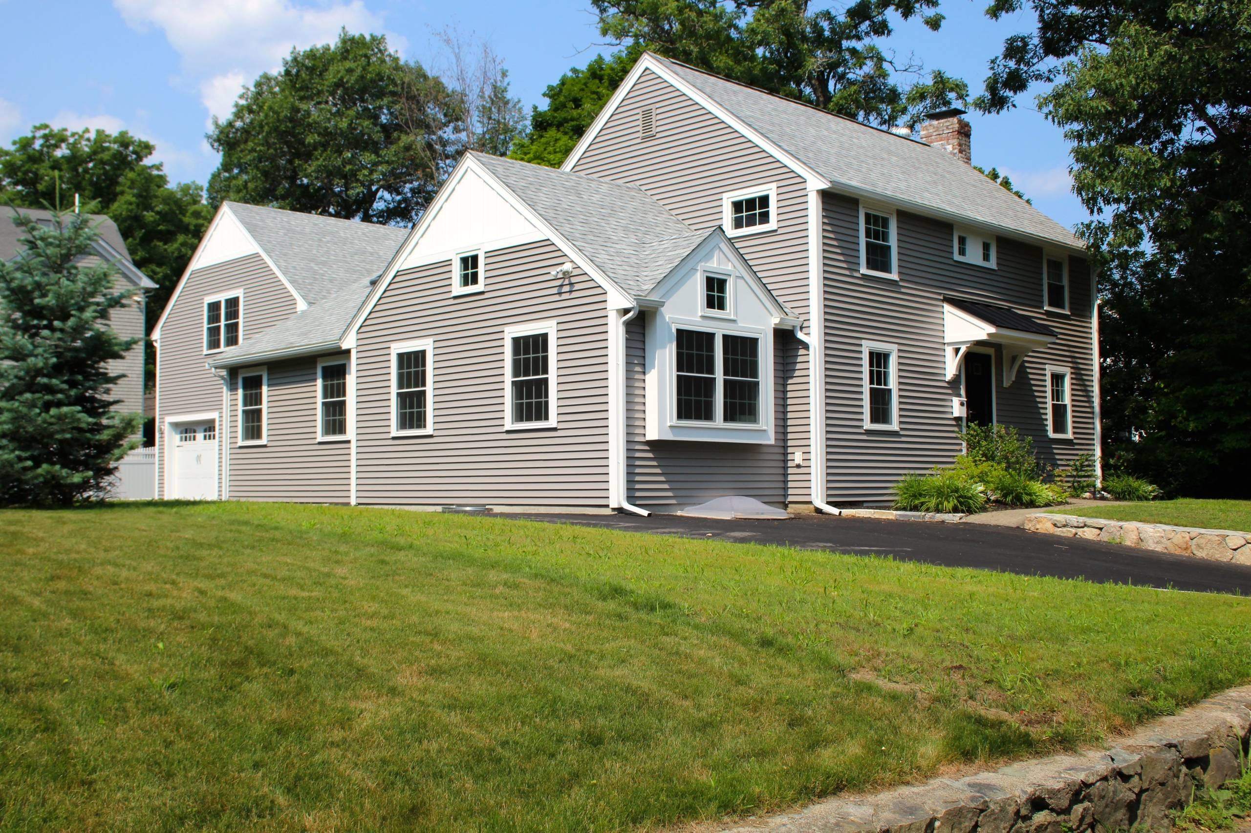 Colonial Addition Designed with Light