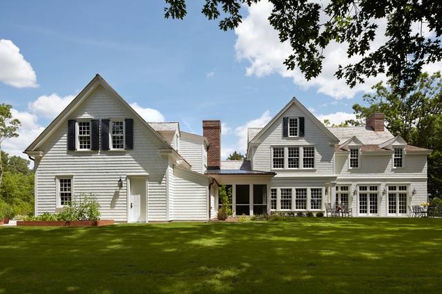 colonial farmhouse - traditional - exterior - minneapolis -