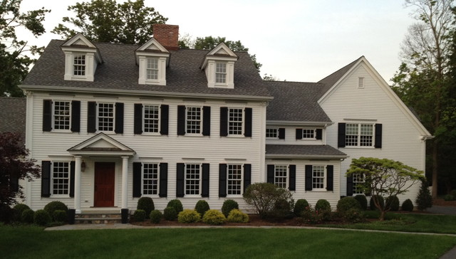 Colonial Renovation Traditional Exterior