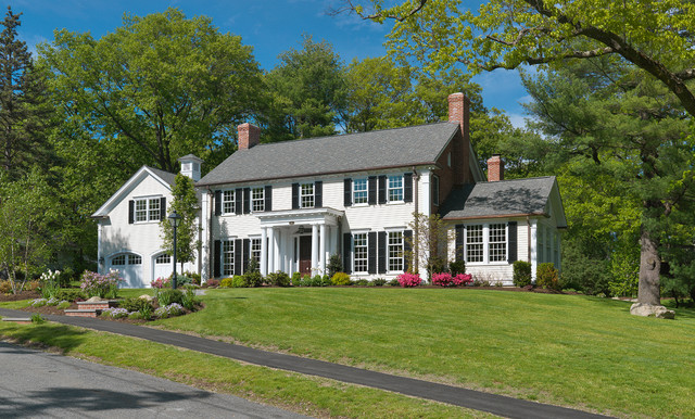 Colonial Revival Traditional Exterior Boston By Jan Gleysteen Architects Inc