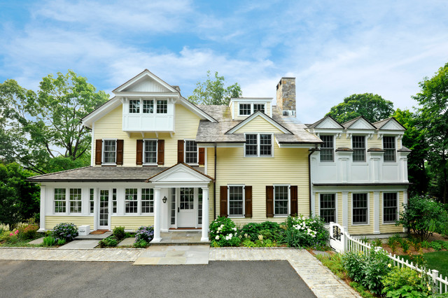 Colonial Style - Westchester County traditional-exterior