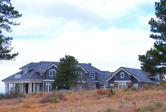 Colorado Golf Club Home traditional-exterior