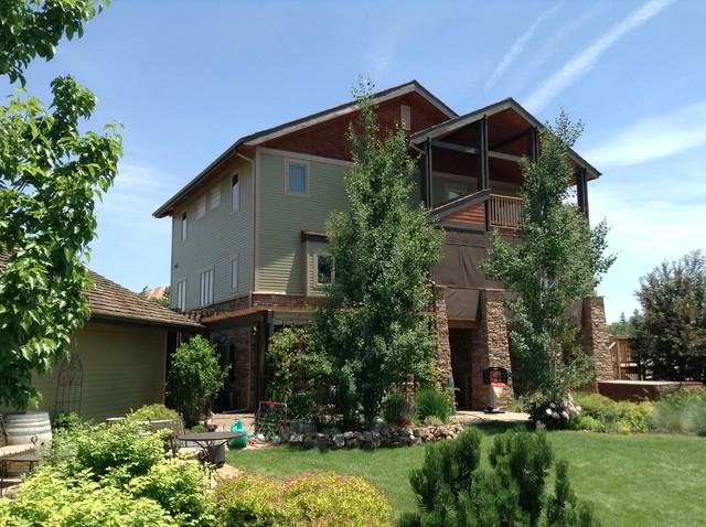 Colorado Craftsman Foursquare Residence craftsman-exterior