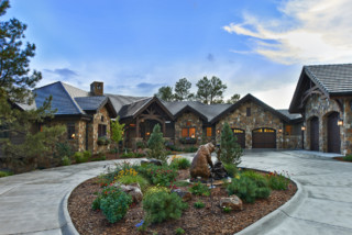 Colorado Mountain Territorial Style Rustic Exterior