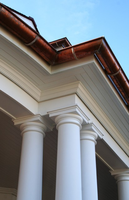 Column / Entablature Detail traditional-exterior
