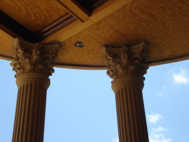 Columns exterior atlanta by unique stucco for Stucco columns
