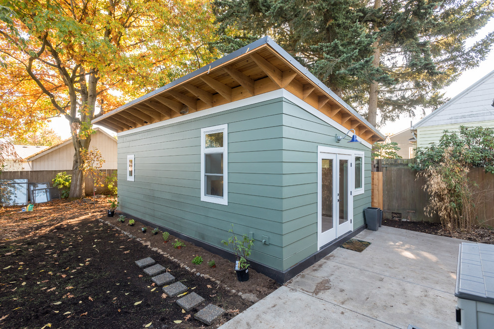 Compact 1-Bedroom ADU in Portland, Oregon - Transitional ...