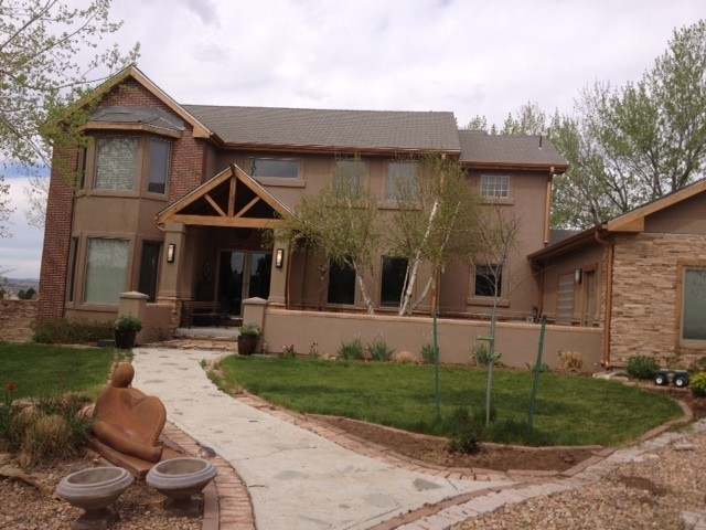 Complete Home Makeover traditional-exterior