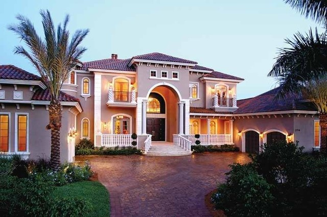 Italian Style Homes Glamorous Complete Home Renovation In Italian Style  Traditional  Exterior . Decorating Design