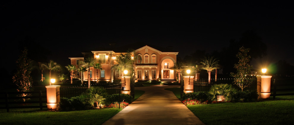 Complete Outdoor Lighting Package - Wide View