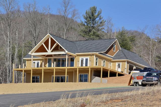 Completed homes craftsman exterior atlanta by for Craftsman home builders atlanta