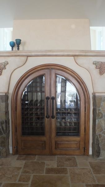 Example of a wine cellar design in Other