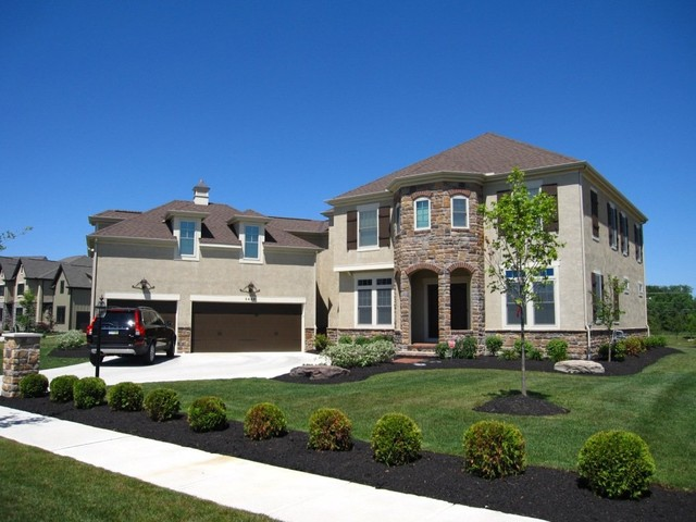 Completed Two Story Homes traditional-exterior