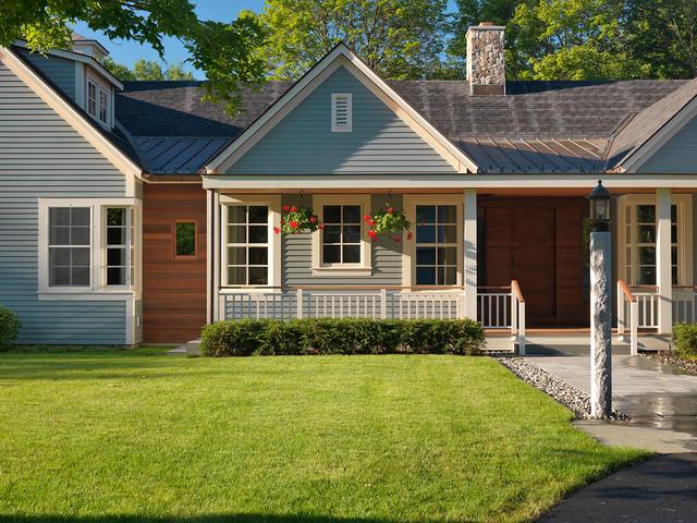 Concord Farmhouse Contemporary - Transitional - Exterior ...
