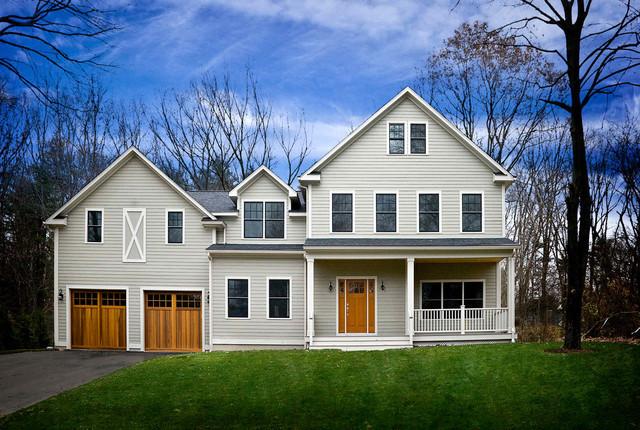 Concord Modular Farmhouse - Farmhouse - Exterior - Boston ...