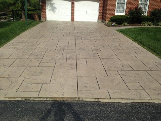 Concrete Driveway Reseal Exterior Cincinnati By Mrc
