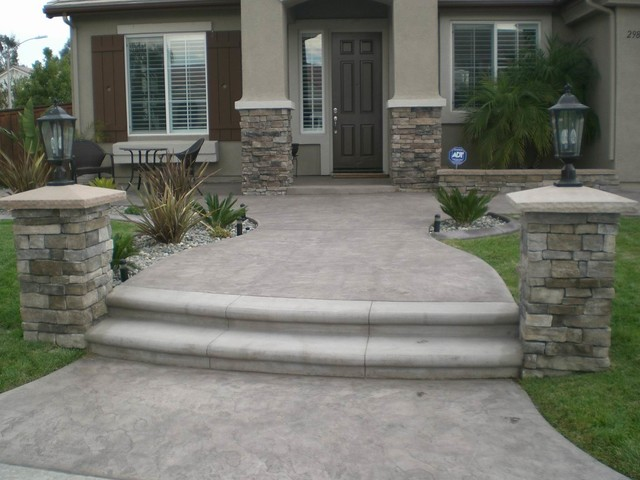 Concrete resurfacing after - Exterior concrete resurfacing products ...