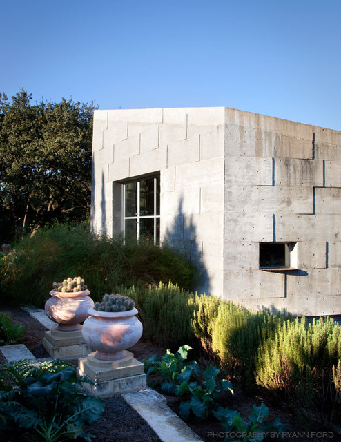 Concrete Studio contemporary exterior