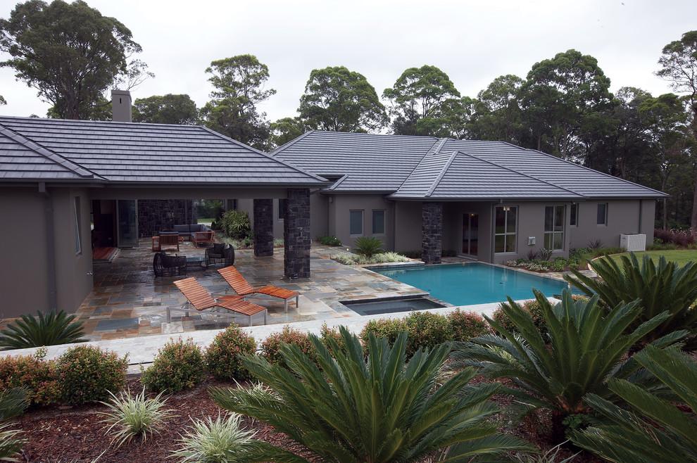Concrete Tiles Cambridge Roof Tiles Traditional Exterior Sydney By Monier Roofing