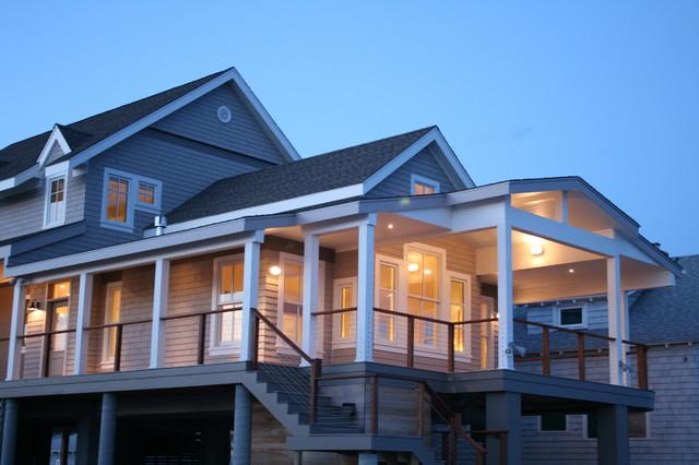 Connecticut Beach House Innovation In Design Award Winner Coastal Exterior