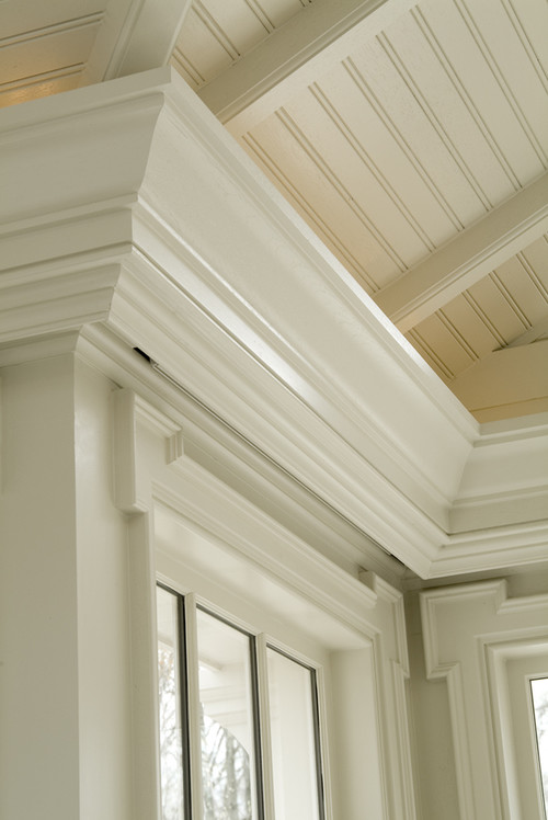 Is the bead board ceiling true bead board or is it a for Top rated ceiling paint