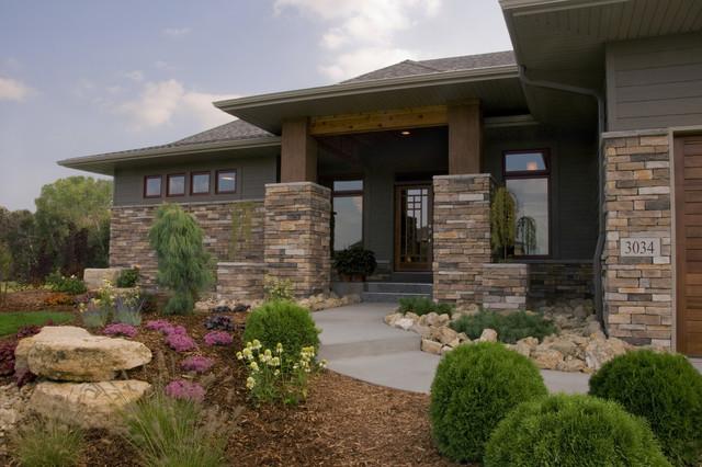 Contem-Prairie contemporary-exterior