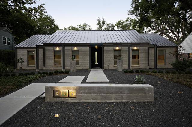 Contemporary Addition contemporary-exterior