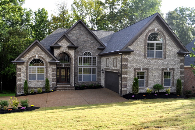 Contemporary Brick Colors Contemporary Exterior Nashville By Robinson Construction Group