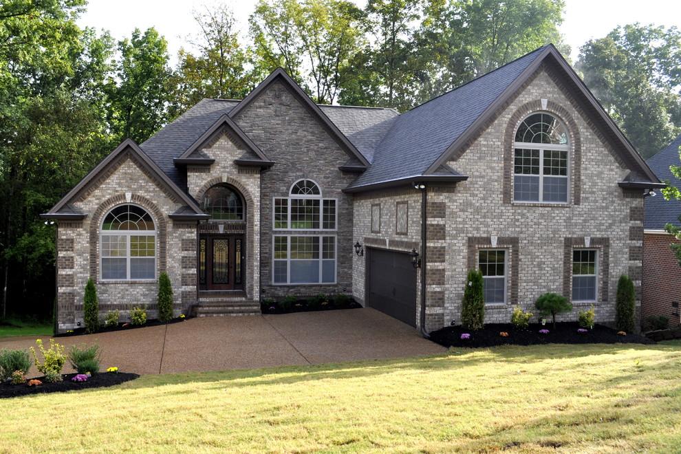 Trendy exterior home photo in Nashville