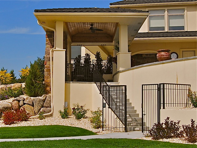 Contemporary designs homes for Exterior remodel and design omaha