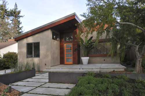 contemporary exterior Color of the Month: Decorating with Orange