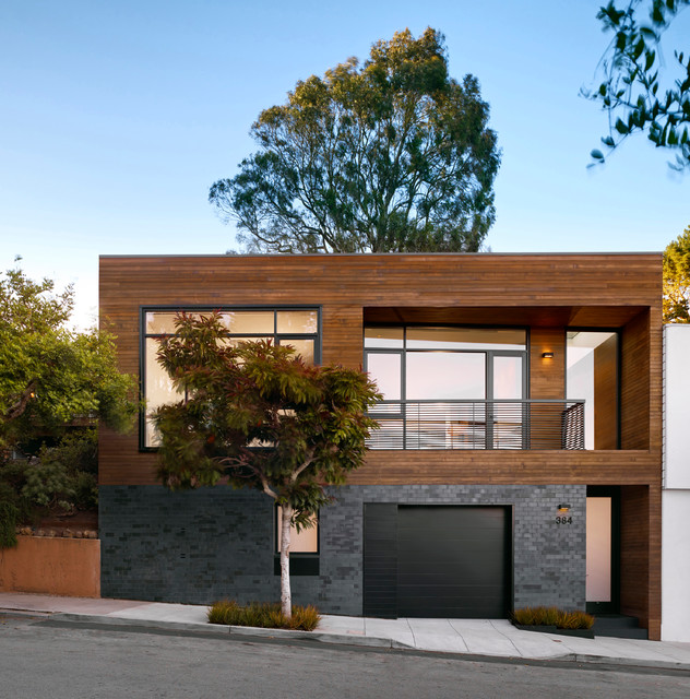 Hill house contemporary exterior san francisco by for San francisco modern homes