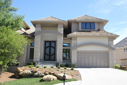 Love Your Color Combinations Stone Stucco Trim