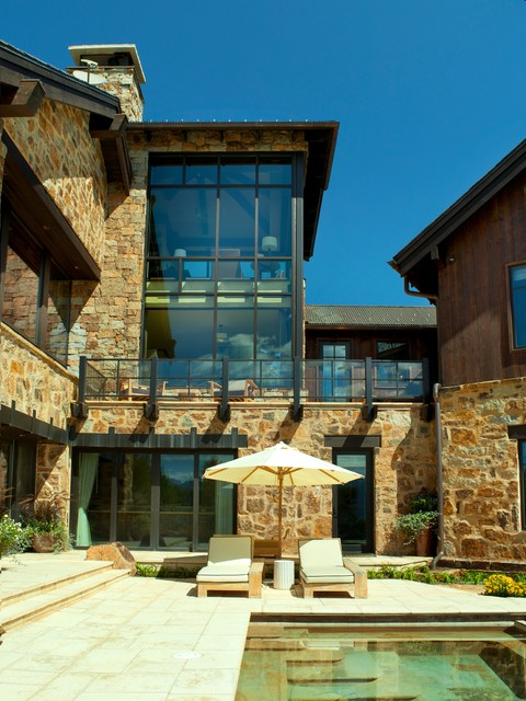 Contemporary Exterior rustic-exterior