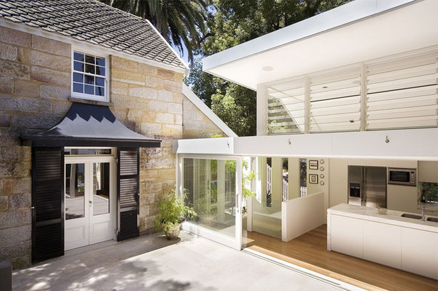 Hunters Hill House contemporary-exterior